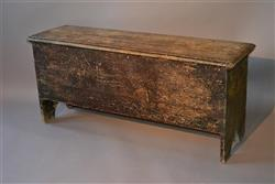 A rare late 17th century painted chest.