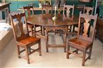 A set of six Welsh Borders chairs.