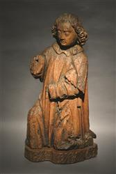 A late Gothic kneeling angel.