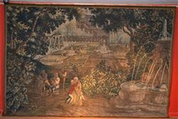 A fine 17th century Beauvais tapestry.
