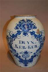 An 18th century delft