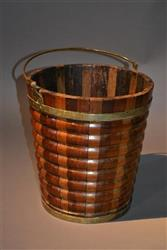 An early 19th century Dutch staved bucket.